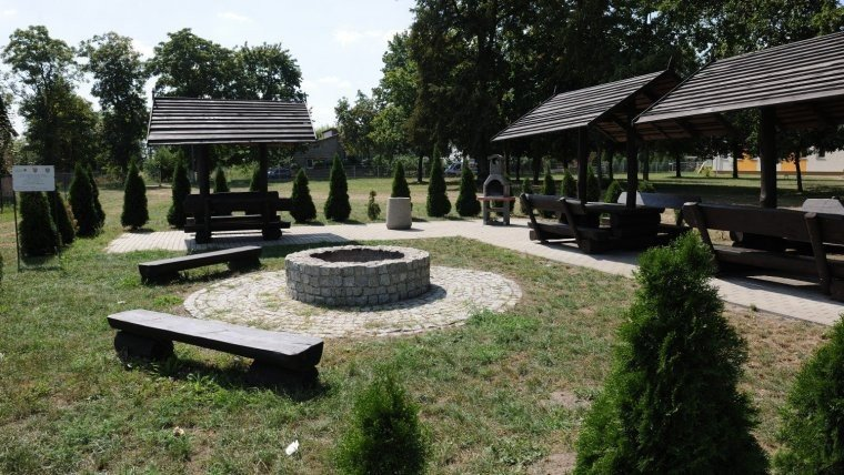 zdjęcie ilustracyjne/arch. UMWW/fot. Gmina Ceków-Kolonia - Zagospodarowanie placu w miejscowości Morawin